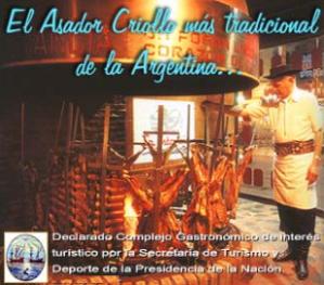 Asador Criollo La Estancia -Buenos Aires-