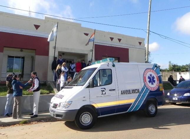 Refuerzo al parque automotor sanitario de concordia cuesti n entrerriana - Centro de salud la flota ...