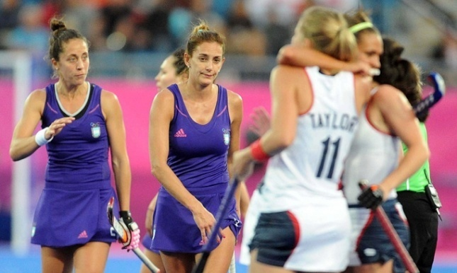 Londres 2012: USA atrapó a Las Leonas