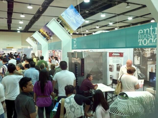 Expo Stand Bolivia : Potenciales negocios entrerrianos sembrados en expo cruz