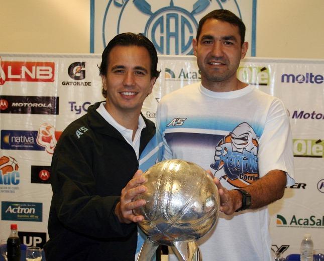 Nicolás y Javier