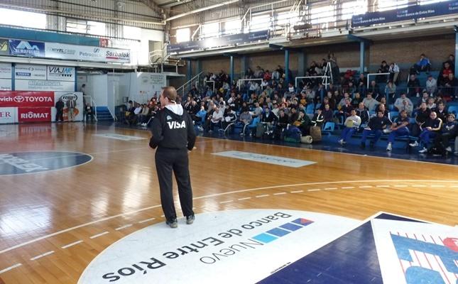 Campus de Perfeccionamiento en Sionista: compartir y aprender de básquet