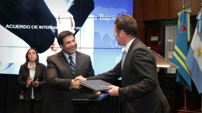 Acuerdo de intercambio informativo tributario entre Argentina y Aruba