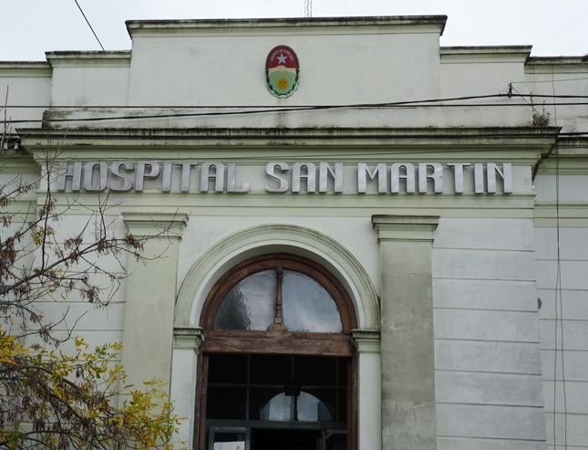 Trabajadores del Hospital San Martín agendan nueva retención de servicios