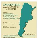 UADER organiza encuentros para debatir sobre la realidad socio-económica