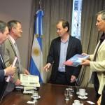 Bordet firmó un convenio de cooperación tecnológica y productiva con empresarios israelíes