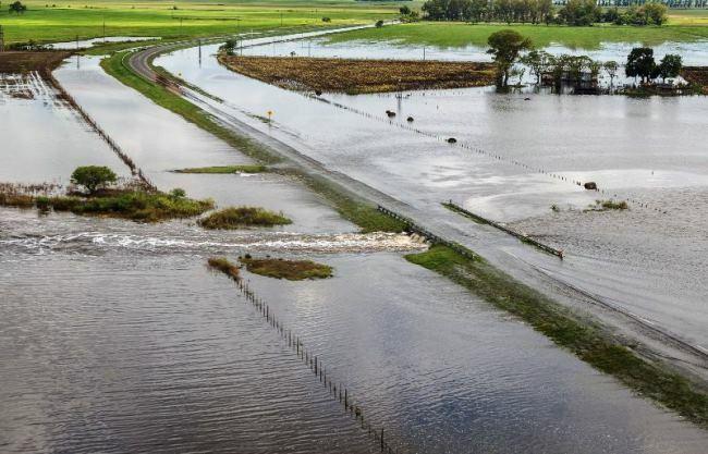 """La Sociedad Rural de Rafaela alerta sobre """"el desastre"""" que dejaron las inundaciones"""