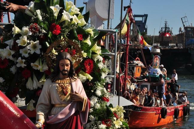 Los pescadores de Mar del Plata celebraron a San Salvador