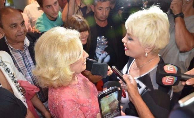Mirtha Legrand fue a ver La Gran Revista de Mar del Plata