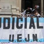 """Judiciales harán paro: denuncian que el Gobierno quiere """"influenciar a la justicia"""""""