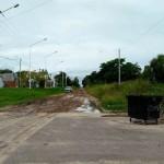 Calle Tibiletti luce impresentable y cada vez más peligrosa