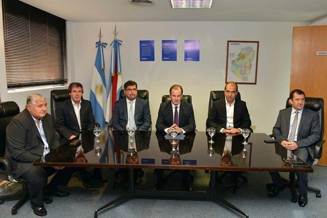 El ingeniero Jorge González asumió como presidente de Enersa