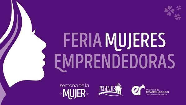 "Stand institucional UADER en la Feria ""Mujeres Emprendedoras"""