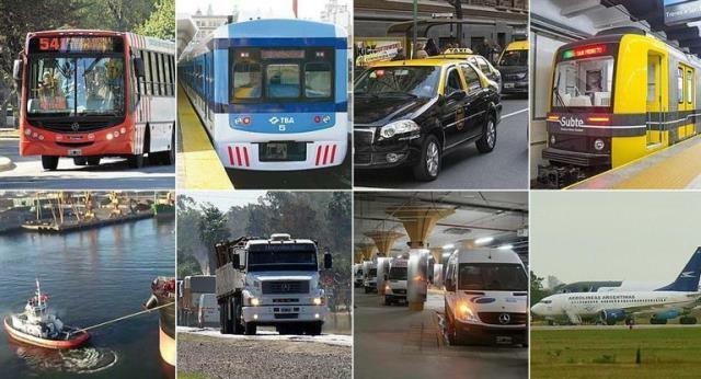 Adhesión total del Transporte al paro de la CGT