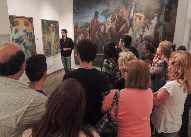 Comienza el programa anual de visitas guiadas en el Museo Provincial de Bellas Artes