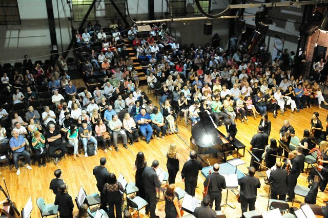 Este sábado, concierto de La Sinfónica en La Vieja Usina