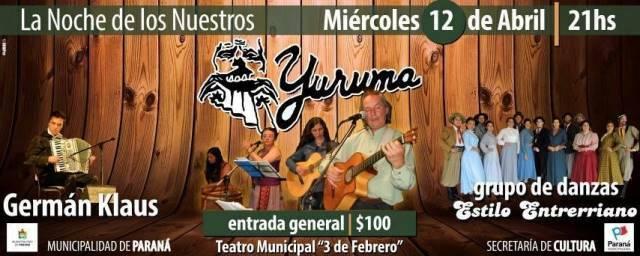 Actividades en el Teatro Municipal 3 de Febrero