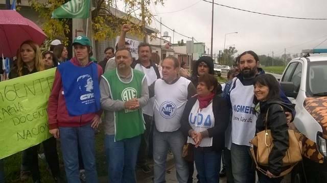 """""""La Policía blindó el camino a Macri para que no podamos reclamar"""", denunció ATE"""