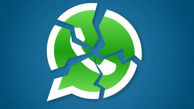 Otra vez WhatsApp se quedó sin servicio