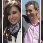 Esteban Bullrich, Cristina Kirchner, Sergio Massa y Florencio Randazzo, principales precandidatos a senadores en Provincia