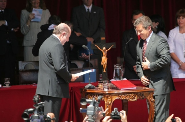 "Diferencias ""insalvables"" entre Urribarri y Bordet"