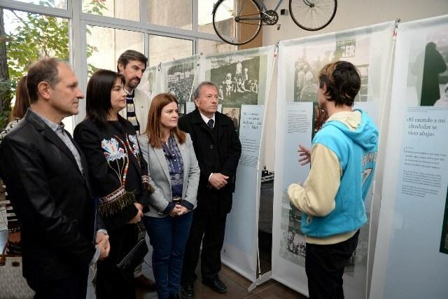 La muestra de Ana Frank abre sus puertas en Concordia