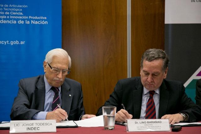 Barañao y Todesca firmaron Convenio Marco de Cooperación