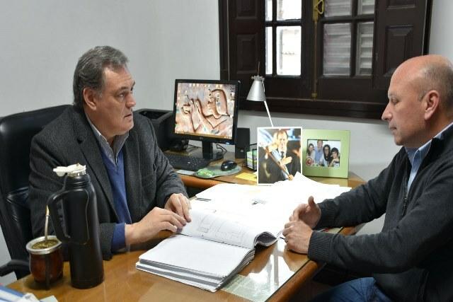 Se firmó el contrato para la ampliación de la Escuela Prefectura Naval de Federación