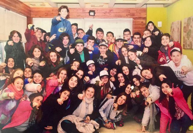 Flecha – dos: La Promoción 2017 de Normal quedó enamorada de Bariloche