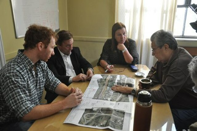 La titular de Vialidad Provincial se reunió con el intendente Varisco