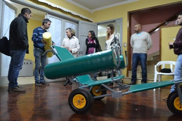 Articulación Uader – Iprodi: continúa el desarrollo de sillas de ruedas anfibias para el turismo accesible