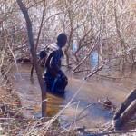 Hallan un cuerpo durante el tercer rastrillaje del río Chubut