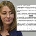 Clarín publicó el teléfono de la hija de Gils Carbó y ahora recibe amenazas