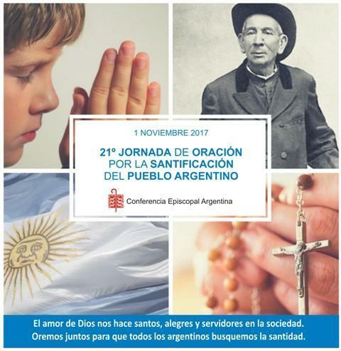 Jornada nacional por la santificación del pueblo
