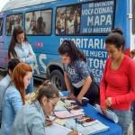 Becario: Continúa la recorrida de distribución de solicitudes 2018
