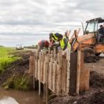 La Provincia intensifica la conservación de caminos durante el fin de semana largo