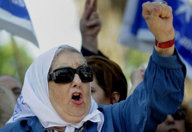 """Bonafini: """"Si la meten presa a Cristina, la gente se va a levantar"""""""