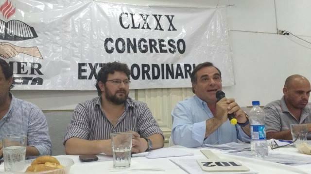 CLXXX Congreso Extraordinario: AGMER en estado de alerta permanente
