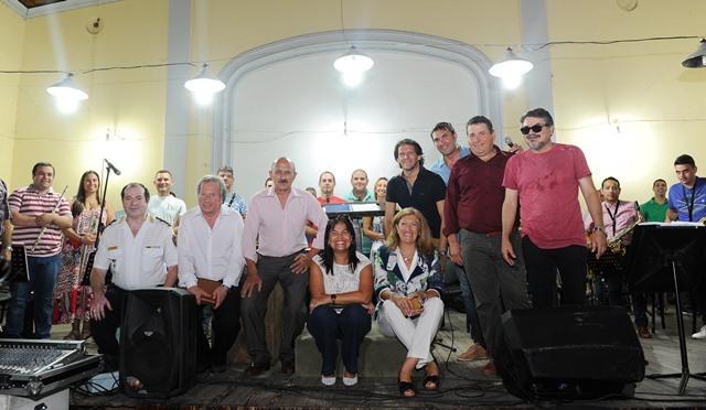 La Banda de Música de la Policía lista para brillar en Cosquín