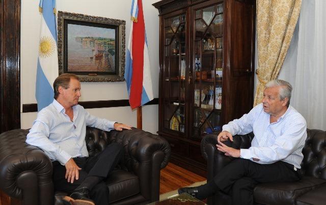 Bordet acordó con Lauritto una agenda con instituciones de Concepción del Uruguay