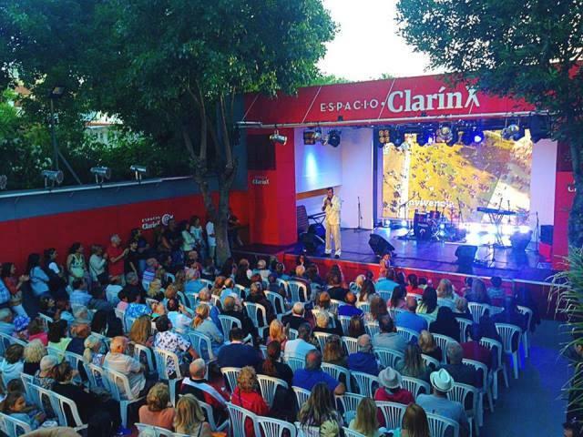 Espacio Clarín con agenda en La Feliz