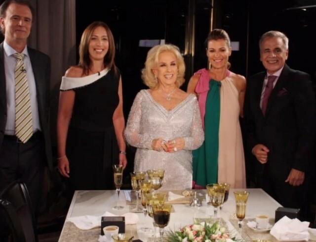 Mirtha le pidió a Vidal que se postule a presidenta