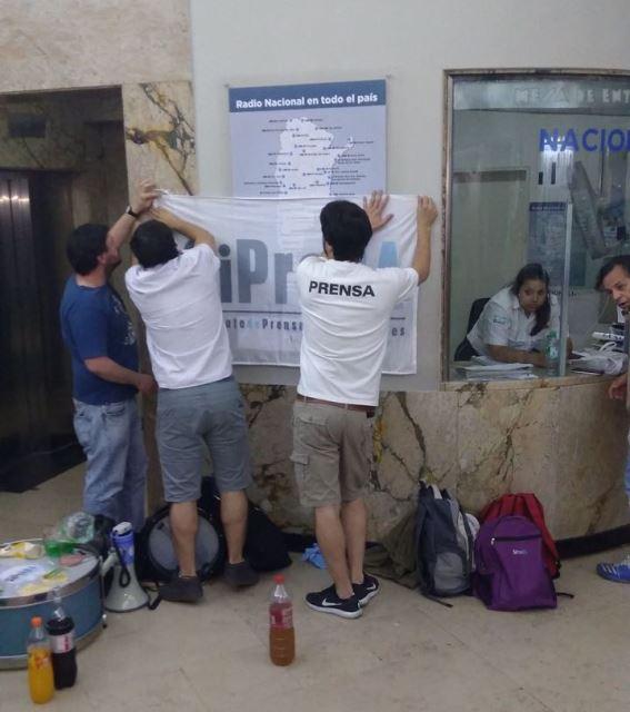 FATPREN repudia despidos en Radio Nacional