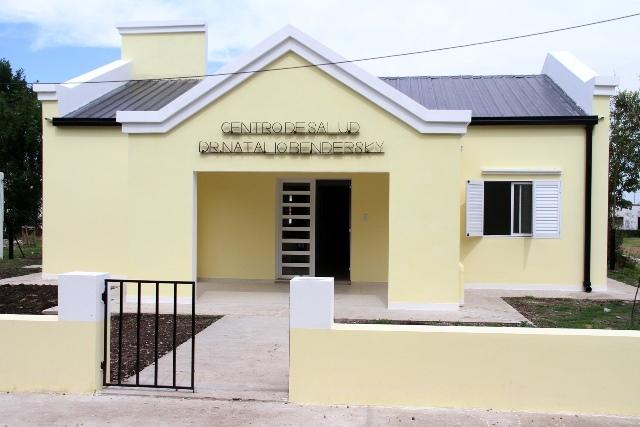 Finalizó la construcción de nuevos edificios para dos centros de salud