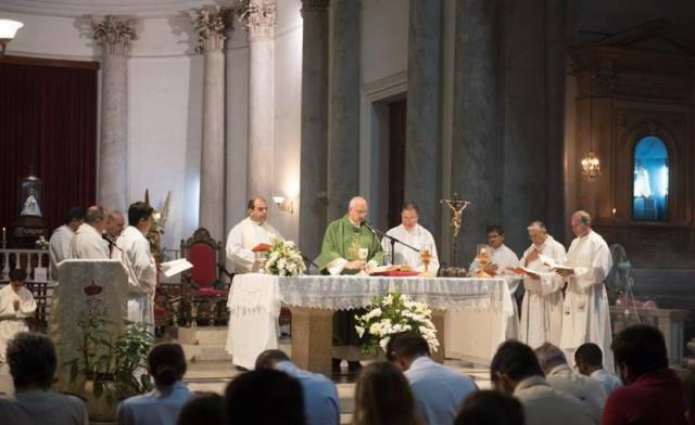 La comunidad castrense concluyó su misión pastoral en Paraná