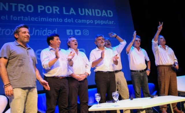 La unidad del PJ contra Cambiemos se puso en marcha de cara a las elecciones de 2019