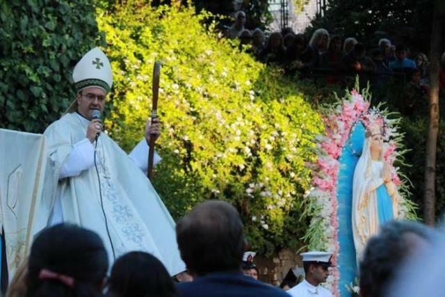 Mar del Plata celebró a la Virgen de Lourdes