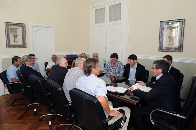 Bordet declaró la emergencia agropecuaria en consenso con los productores