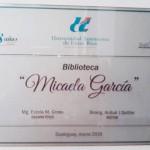 La Biblioteca de la FCVyS-UADER lleva el nombre de Micaela García