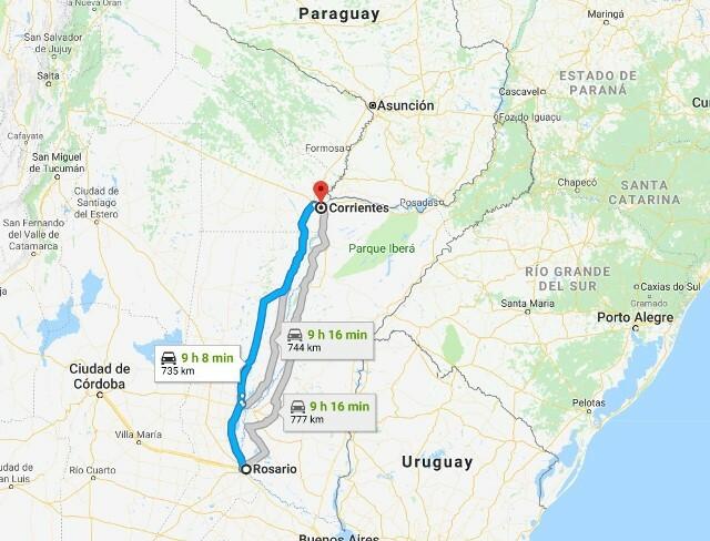 Macri necesita un mapa: anunció la licitación para un puente entre Rosario y Corrientes
